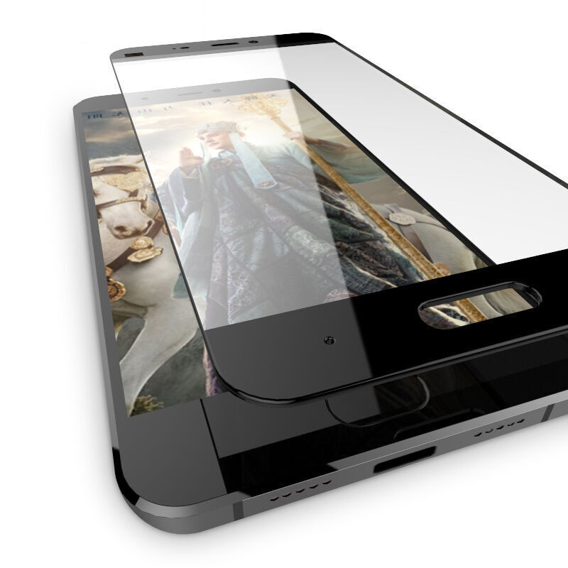 Protector de pantalla de vidrio templado de cobertura completa 9H 2.5D para Xiaomi Mi Max 2 MIX 2 6 5 5X 5S Plus Note 2 3 Mi6 Mi5 MiMax2