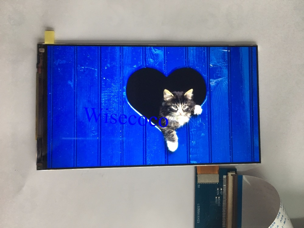 LS055R1SX03 panel de pantalla LCD retroiluminado eliminado para duplicador Wanhao 7 DLP/SLA