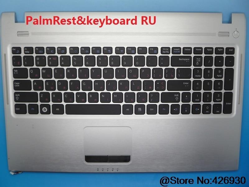 Portátil PalmRest y teclado para Samsung Q530 Canadá CA checa CZ Italia Rusia. De Alemania GR BA75-02670J BA81-10519A con Touchpad