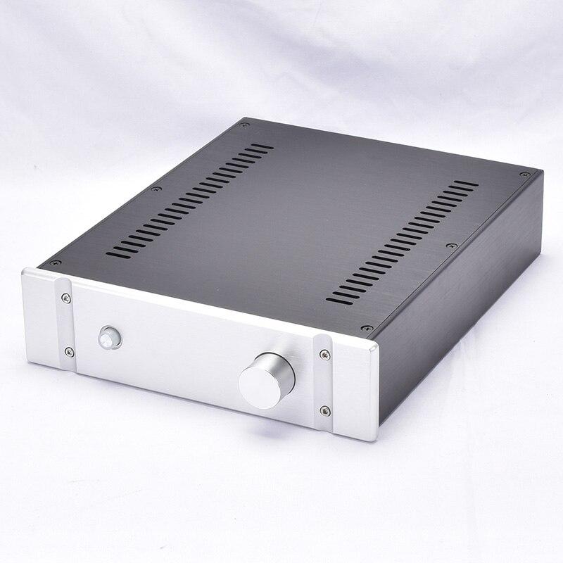 KYYSLB 260*70*311MM caja de bricolaje 2607B todo amplificador de aluminio chasis carcasa de chasis preamplificador carcasa de chasis con persianas