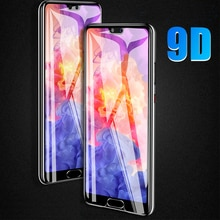 Curved Tempered Glass case on For Huawei P20 pro Full Glue Screen Protective Fill For Huawei P30 Mat