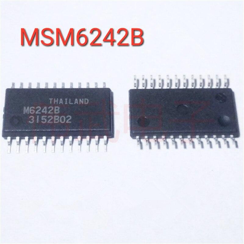 10 unids/lote M6242B M6242 MSM6242B SOP-24