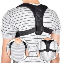 Correcteur de Posture du dos ajustable clavicule dos épaule soutien lombaire ceinture de soutien Correction de la Posture empêche le relâchement