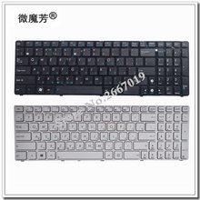 RU Pour Asus G73Sw G73Jw K52D K52DR K52DY K52JK K52JR K52JT K52JU K52JV K53SV K53SC 04GN0K1KRU00-3 Ordinateur Portable Clavier Russe