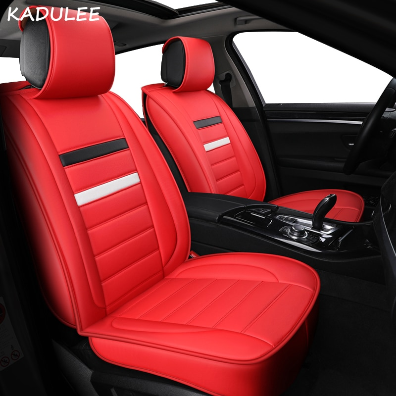 Funda de asiento de coche KADULEE para renault megane 4 nissan altima jac s2 ssangyong korando mazda 6 gg, accesorios de coche con estilo