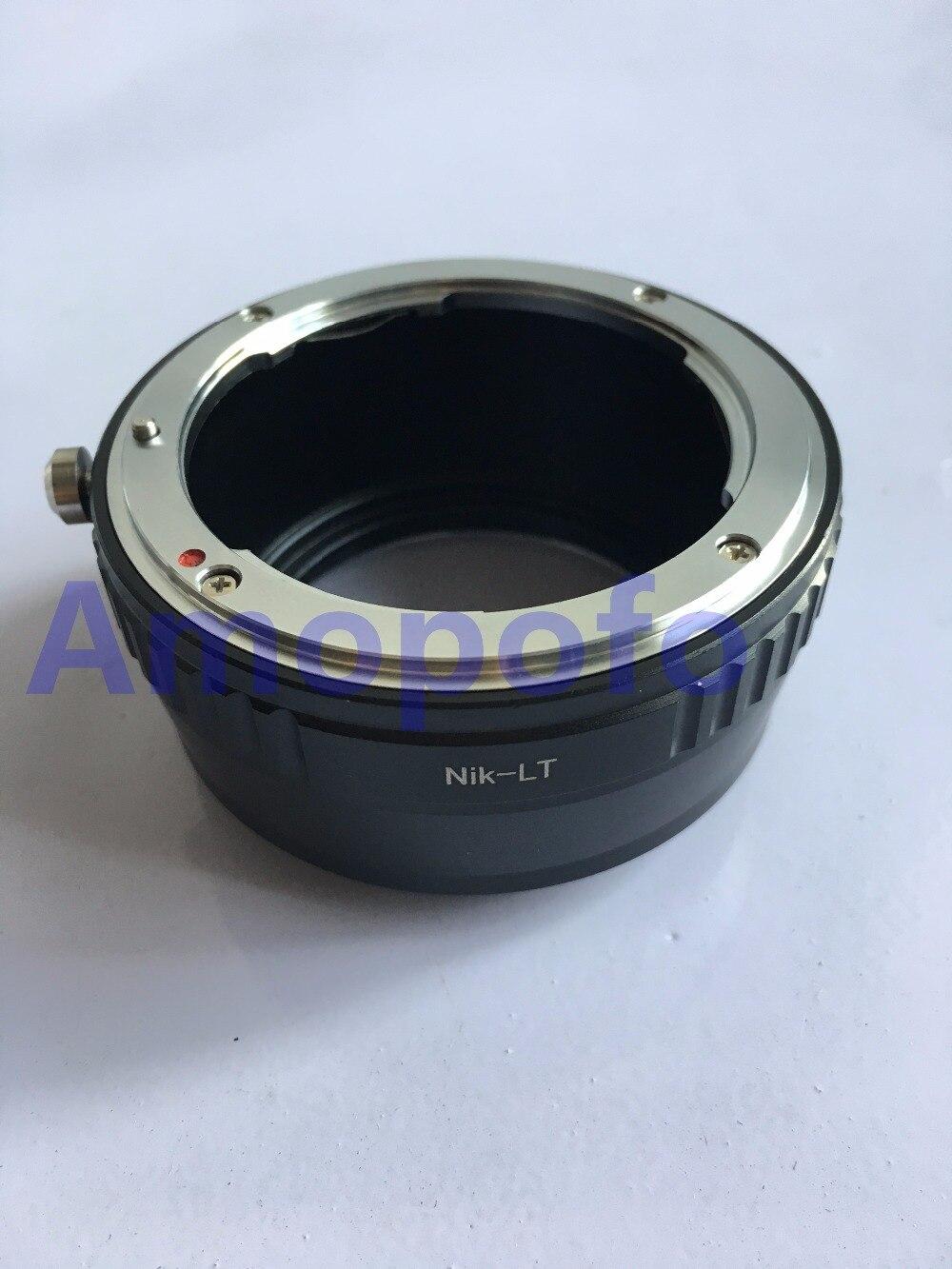 Adaptador Amopofo AI-LT para lente de montaje Nikon F AI para cámara Leica SL T tipo 701 sin espejo