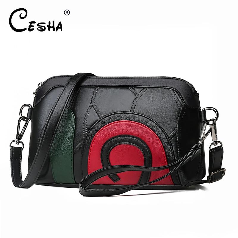 Hot Sale Genuine Sheepskin Leather Women Shoulder Bag Cartoon Design Girls Messenger Bag Fashion Genuine Leather Handbag Female