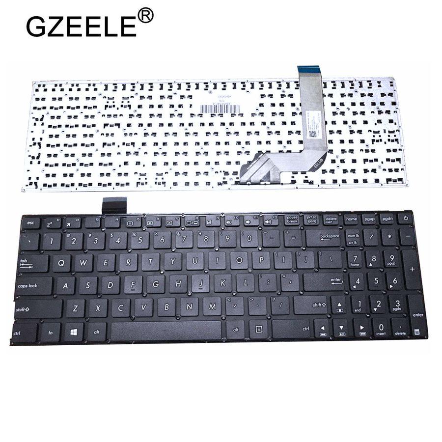 Novo Inglês teclado do laptop para ASUS X542 X542B X542BA X542U X542UR X542UN X542UF X542UQ Teclado EUA