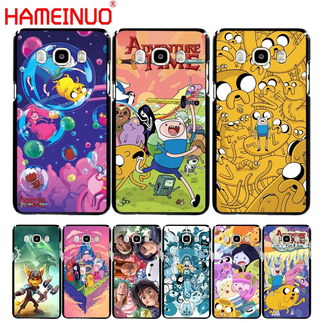 HAMEINUO aventura tiempo cubierta del teléfono funda para Samsung Galaxy J1 J2 J3 J5 J7 MINI ACE 2016, 2015