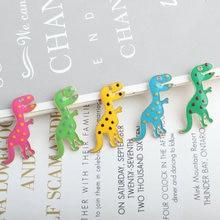 Cartoon Spotted Dinosaurus Enamel Charms Lichtmetalen Animal Dangle Charms Hanger fit DIY Ketting Armband Drop Olie Accessoires Craft
