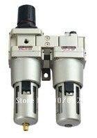 G1 luftfilter kombination, luftfilter einheit, luftquelle behandlung Zwei Stücke Modell AC5010-10 Freies Schiff 5 teil/los