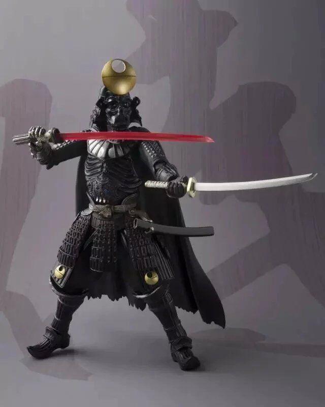 Figura de Película 16CM Star Wars Samurai Taisho Darth Vader 1/7 escala pintada PVC acción figura juguete de modelos coleccionables Brinquedos