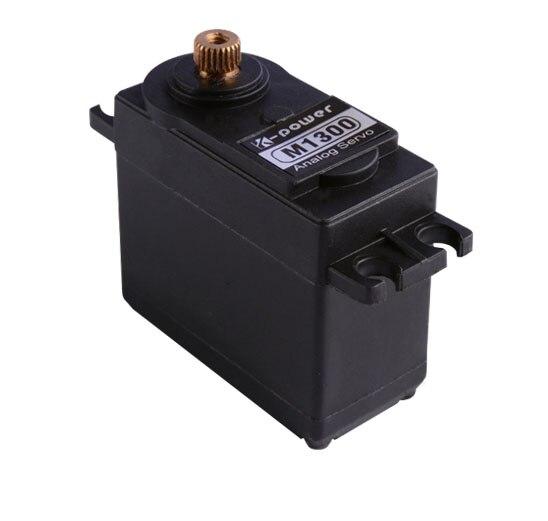 K-power M1300 13kg torque metal gear servo/Analog waterproof RC servo for cars/servo for toys&hobbies enlarge