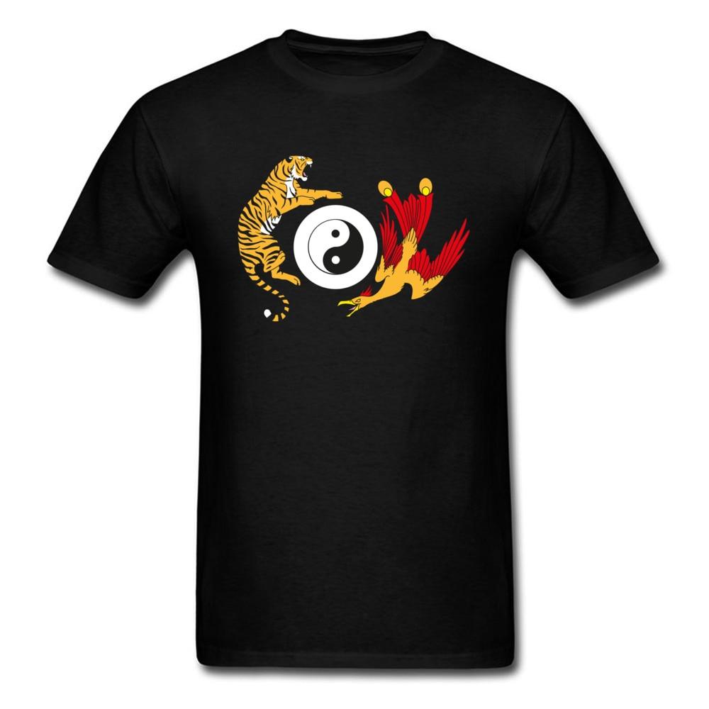 Мужская футболка с логотипом Taekwondo, модная брендовая футболка Yin Yang Tiger VS Crane, с логотипом кунг фу|brand t shirt|fashion t shirtt shirt | АлиЭкспресс