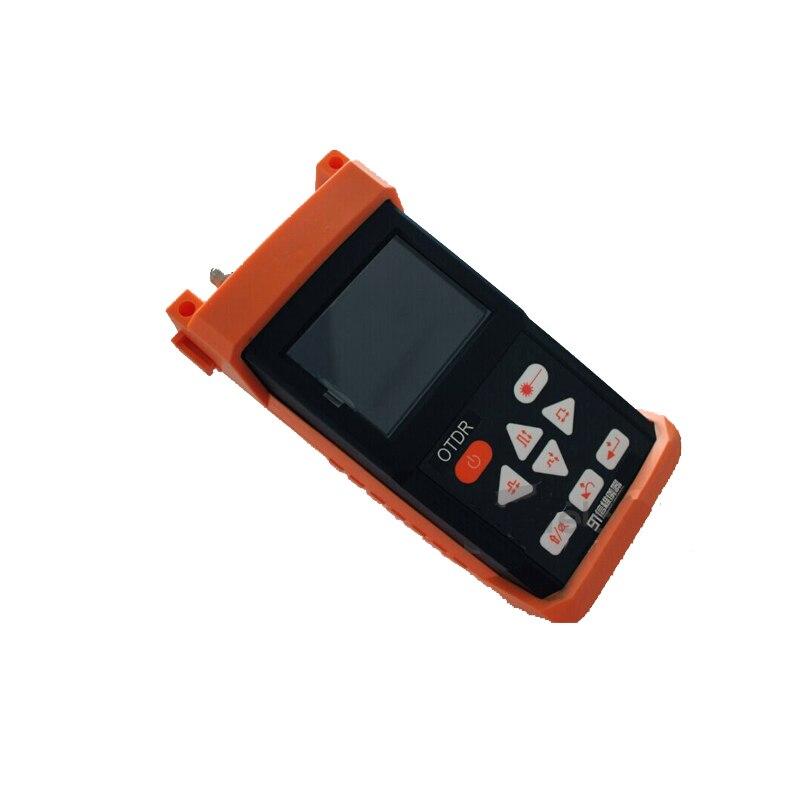 Portátil s120a-sm-otdr 1310/1550nm reflectómetro de dominio de tiempo óptico 24dB S120A integrado VFL fibra óptica OTDR menú inglés