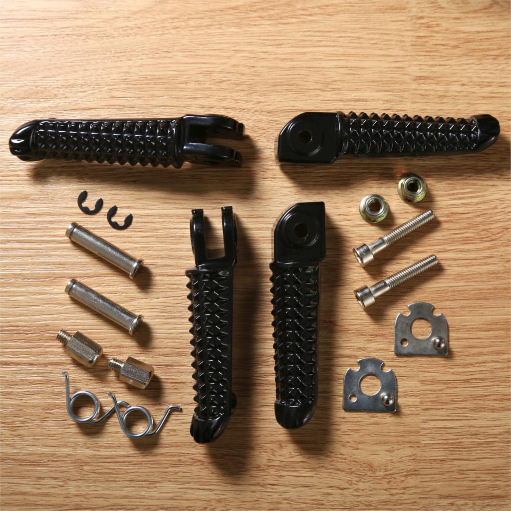 1 пара черные мотоциклетные передние и задние Алюминиевые Подножки для ног Sportster