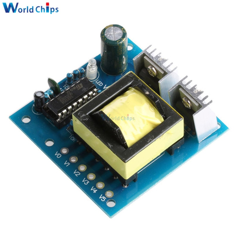 150 w conversor do carro dc 12 v para ac 220 v inversor placa de impulso módulo transformador potência bateria impulsionador transformador alta frequência