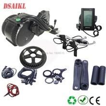8fun/bafang BB 68MM 100MM 120MM moteur 48v 750W C965 850C affichage BBS02b mi moteur à manivelle kits de vélo électrique