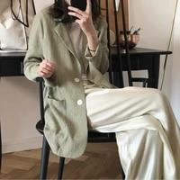 ladies jackets summer new korean summer vacation breathable sunscreen suit jacket lapel thin suit jacket women