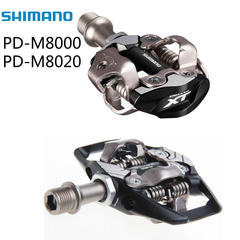 Shimano XT PD M8000/M8020 SPD de auto-bloqueo ciclismo montaña MTB bici Pedales...