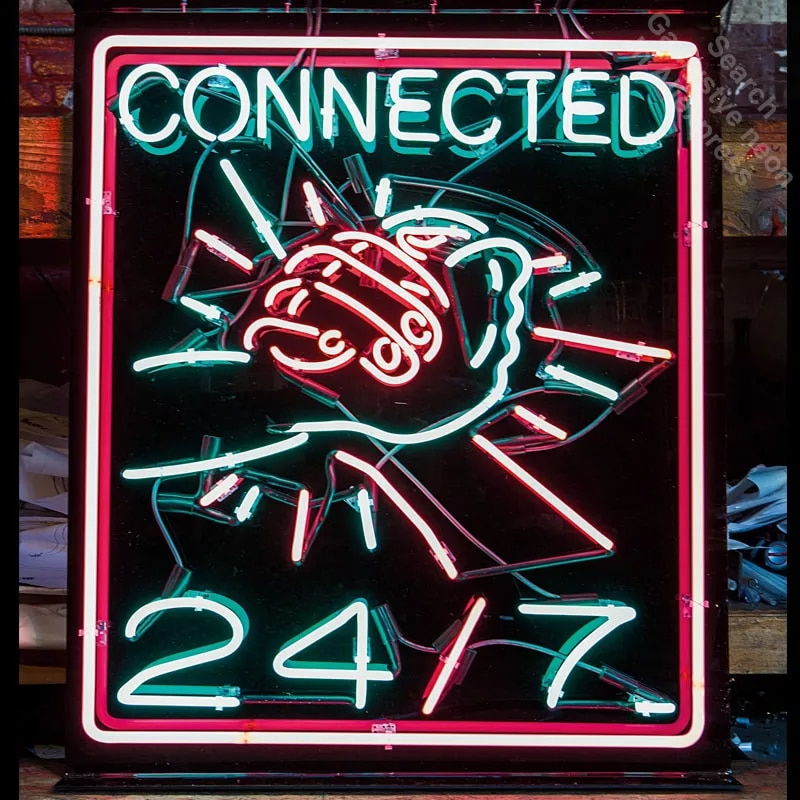 ניאון לחתום מחובר ידיים ניאון נורות סימן תצוגת בעבודת יד זכוכית צינור חיצוני ניאון אורות למכירה ניאון שחור לוח
