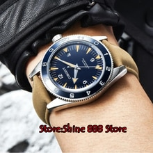 41mm Corgeut bluesterile dial luminous ceramic bezel Automatic mens Watch Luxury Brand Top Mechanical Watches