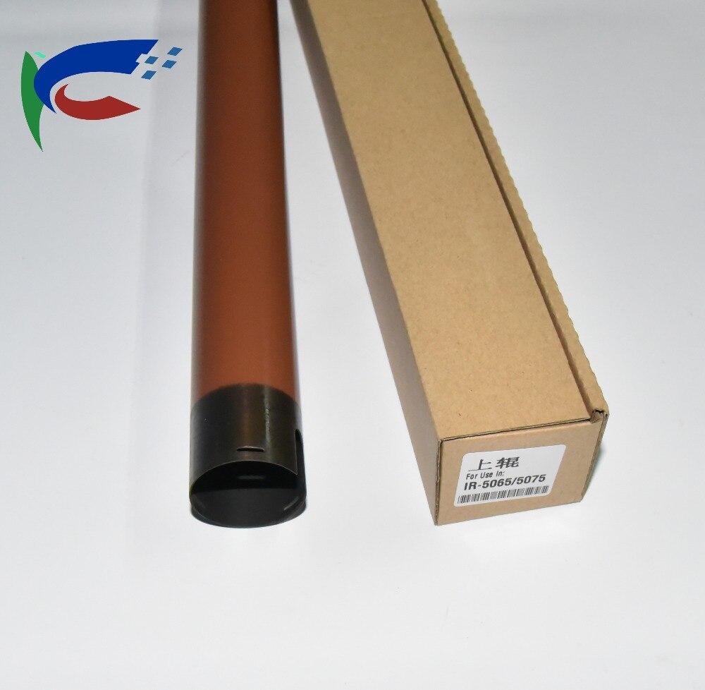 2 * nowy górny wałek nagrzewnicy rolki do Canon iR5055 iR5065 iR5075 ir 5055 5065 5075 FC7-4276-000 części kopiarki rolki utrwalacza