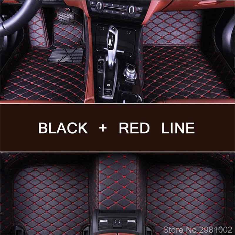 Custom made car floor mats for Lexus ES250 ES300H ES350 IS250 RX 350 CT GX LS NX300H GS GX460 carpet rugs linersor Accessories