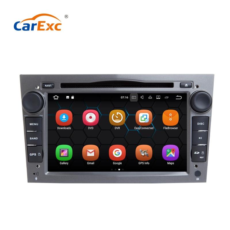 Pantalla táctil HD Android 9,0 Auto DVD GPS BT navegación 2G RAM 32G ROM para el Opel Meriva Zafira Veda Vectra Radio Estéreo Multimedia