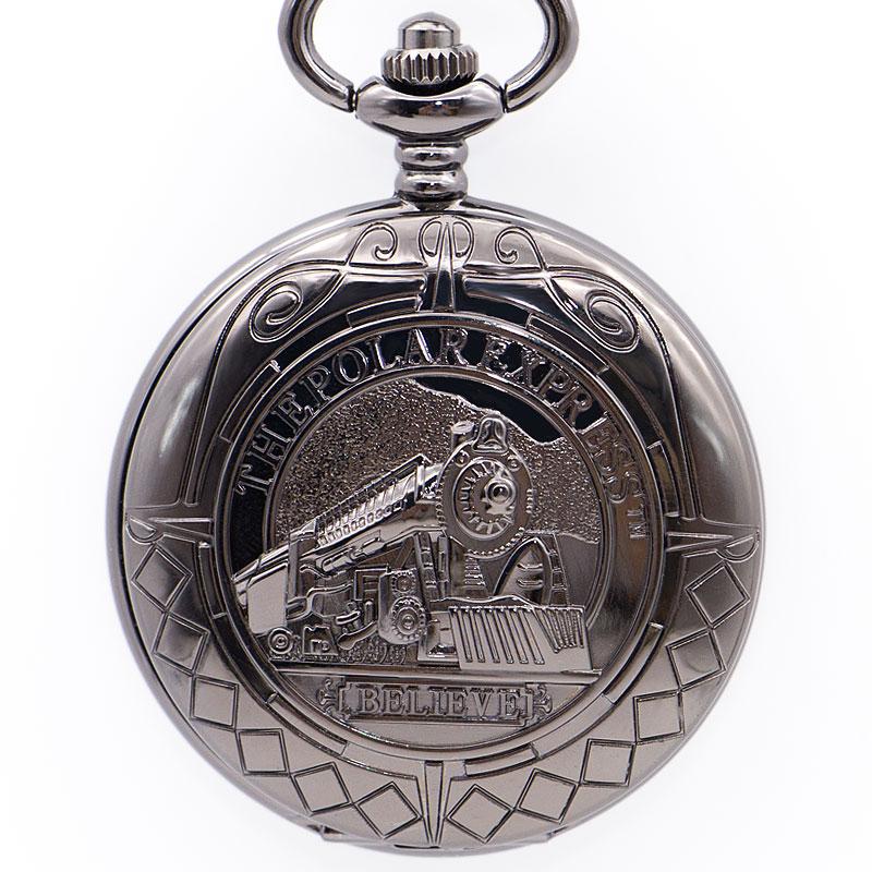 Steampunk tren Vintage reloj de bolsillo mecánico reloj relicario con cadena cuerda a mano de los hombres reloj de bolsillo