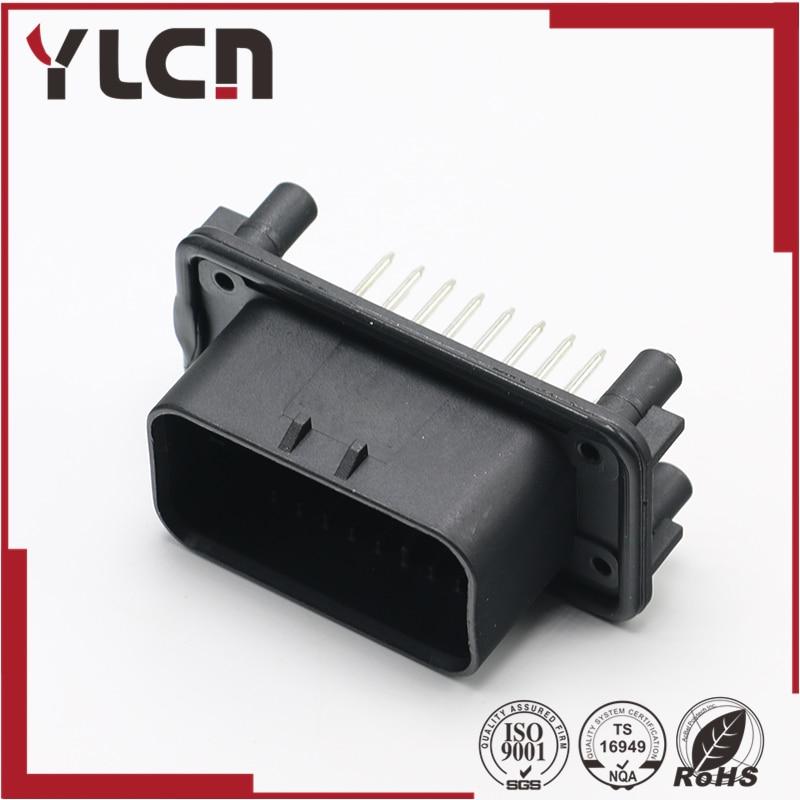 Envío Gratis 23 Pin macho impermeable automotriz carcasa conector eléctrico 776200-1