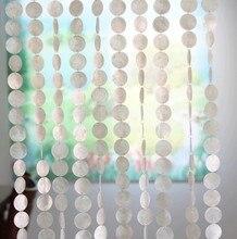 Rideau en coquille naturelle de haute qualité 10m   Rideaux décoratifs dintérieur de séparation, rideaux de porte décoratifs dhôtel
