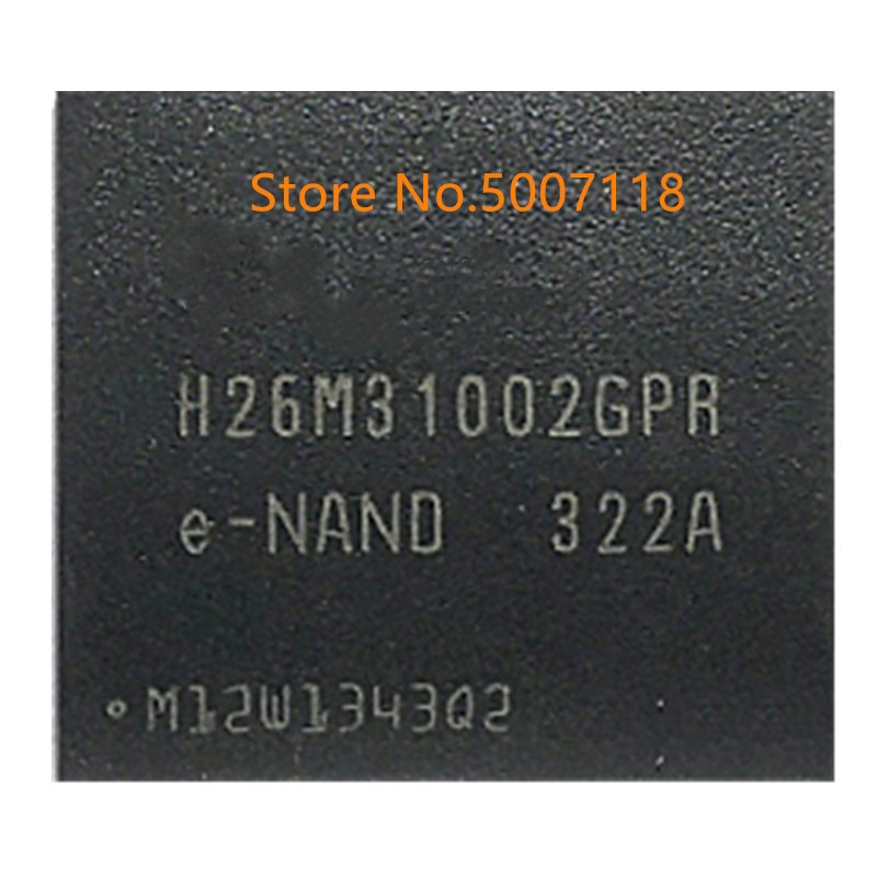 100% novo origina H26M31002GPR H26M31002GPRe-NAND