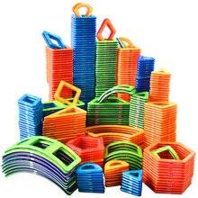 1 pièces grande taille blocs magnétiques ensemble de Construction 3D modèle bâtiment constructeur magnétique concepteur aimant jouets pour enfants cadeau