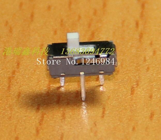 [SA] interruptor de palanca miniatura pequeño interruptor deslizante DC power breadboard switch MS12D16 --- 200 unids/lote