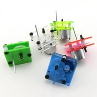 310 gear dc motor 1 6v 300rpm 5colors diy model making for teaching and experiment micro small solar energy motor