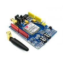 Kit de Module quadribande de carte de développement de bouclier GSM SIM900 GPRS pour Arduino
