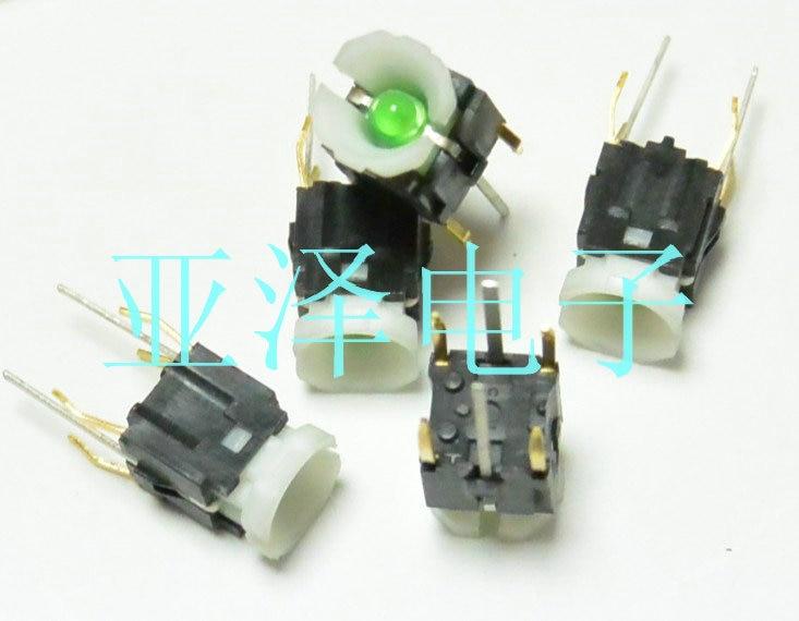 Nissan-FUJISOKU Fuji 6  u0026 fois   6  u0026 fois, 9 4 pieds, interrupteur tactile vert lumière 6*6 clés avec lumières