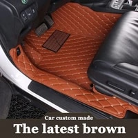 custom fit car floor mats for toyota camry xv4050 6th 7th generation 6d all weather carpet floor liners2006 now