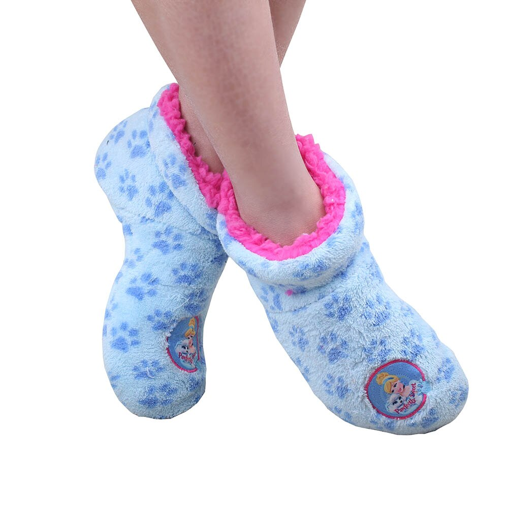 2020 Boys Girls Cartoon socks Children Slippers Anti-Slip Slippers 6-10 years flip flop shoes Winter Warm Indoor Flooring