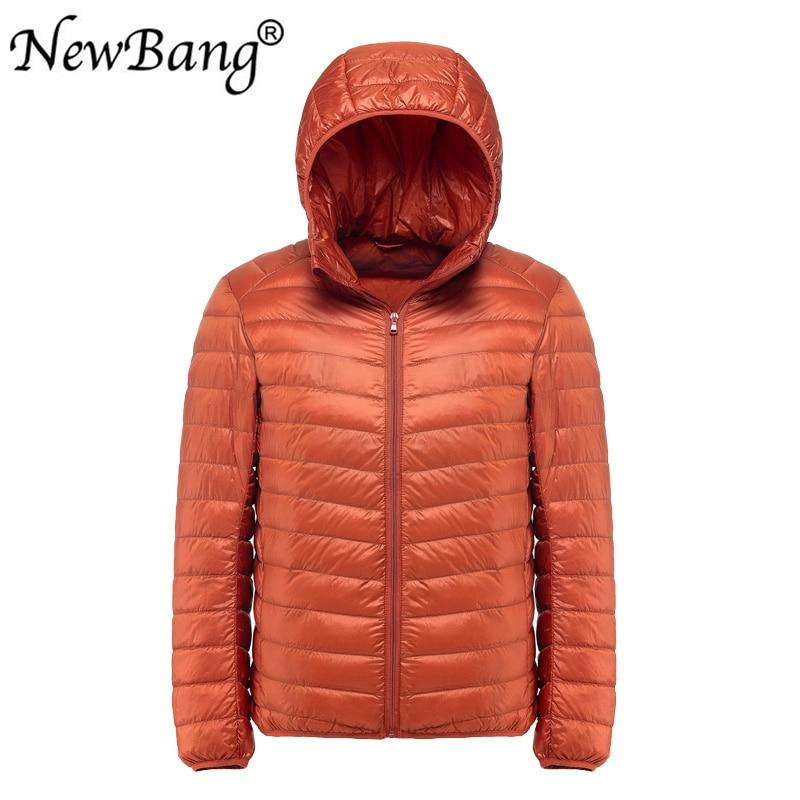 NewBang Plus 11XL 10XL 9XL Men's Down Jacket Ultra Light Down Jacket Men Windbreaker Feather Parka Man Winter Large Size Outwear