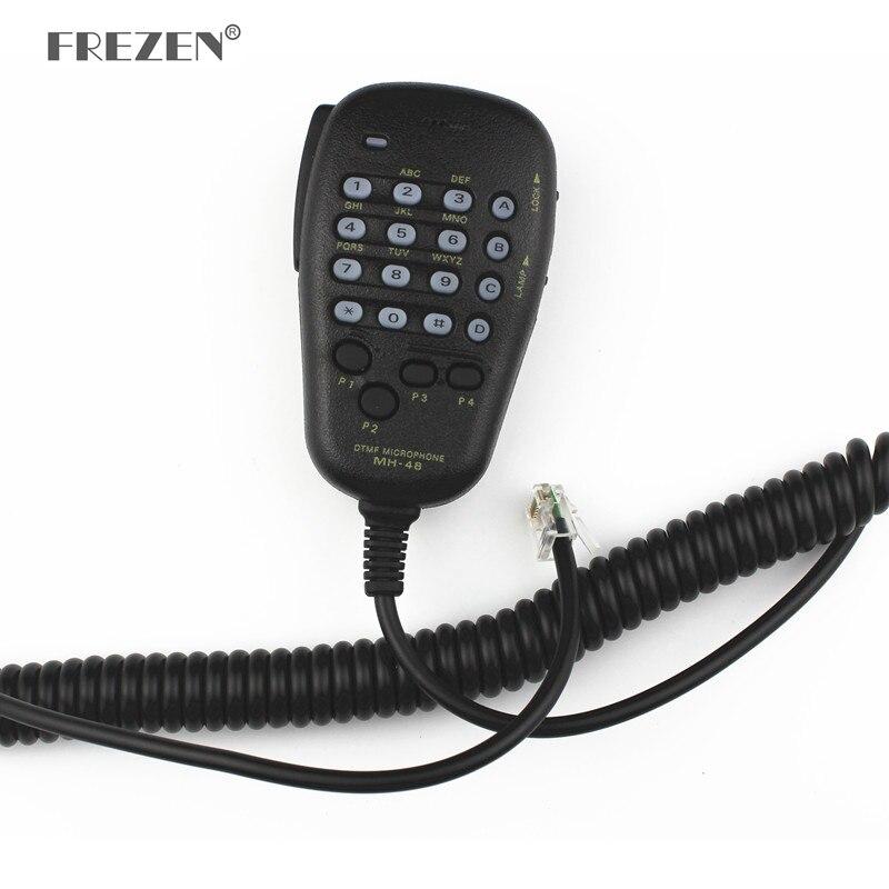 FREZEN микрофон автомобильный Радио MH-48A6J DTMF ручной динамик микрофон для Yaesu FT-8800R FT-8900R динамик