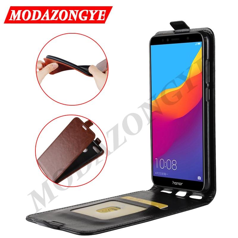 Honra 7A Pro Caso 5.7 Telefone Estojo de couro PU Para Huawei Honor 7A Pro AUM-L29 AUM L29 Honor7A 7 APro honor7APro Tampa Do Caso Da Aleta