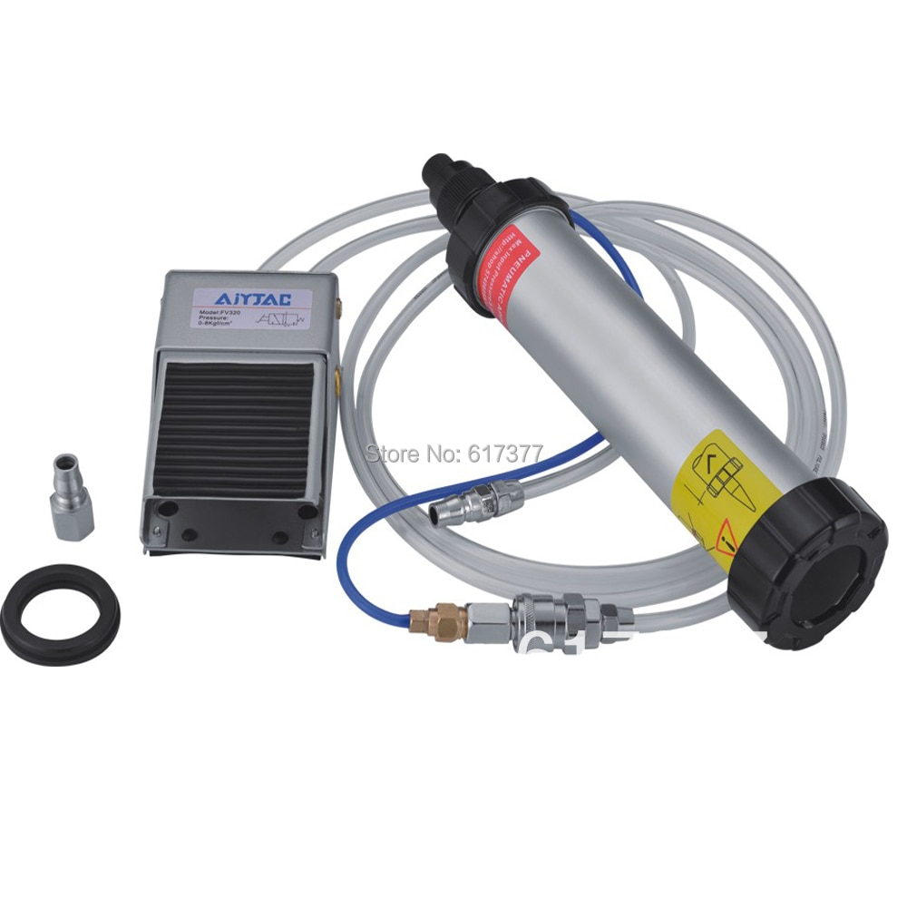 Good Quality Retail Economy 12 Inches for Foot Type 400ml Pneumatic Air Caulking Gun Touched by Foot