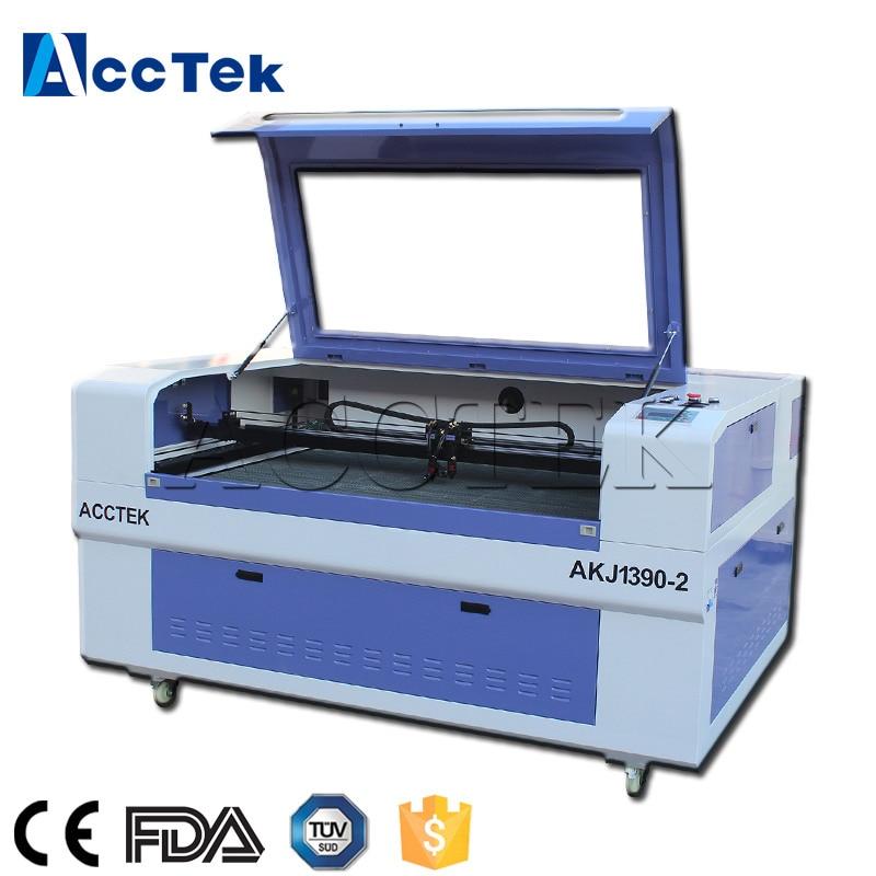 60w máquina de láser-1390 láser CNC kesim makinesi-grabador láser, cortadora láser con CE FDA