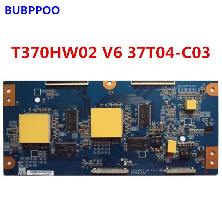 Frete grátis Original T370HW02 V6 37T04-C03 T370HW02 V9 37T04-C09 logic board