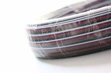 Gratis Verzending 50 m/partij RGBW 5pin cable voor LED RGBW RGBWW strip, 22AWG RGBW 5 kleuren draad, 5pin Vertind koper breiden draad