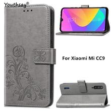 For Xiaomi Mi CC9e Case Soft Business Luxury Leather Flip Wallet Phone Bag Case For Xiaomi Mi CC9e C