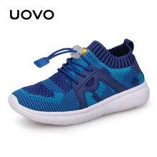 UOVO Kinder Sport Schuhe Jungen Laufschuhe 2020 Frühling Kinder Atmungsaktives Mesh Schuhe Für Jungen Und Mädchen Mode Turnschuhe 27 #-37 #