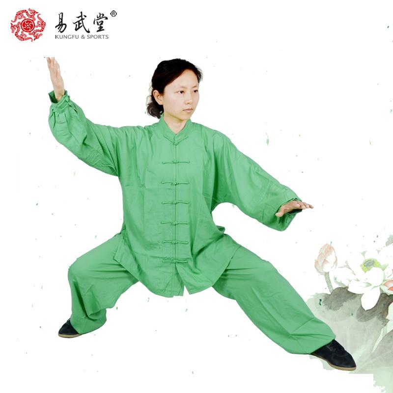 Artes marciales taiji ropa china wushu ropa y uniforme de Tai Chi 98% algodón uniforme de Kung Fu